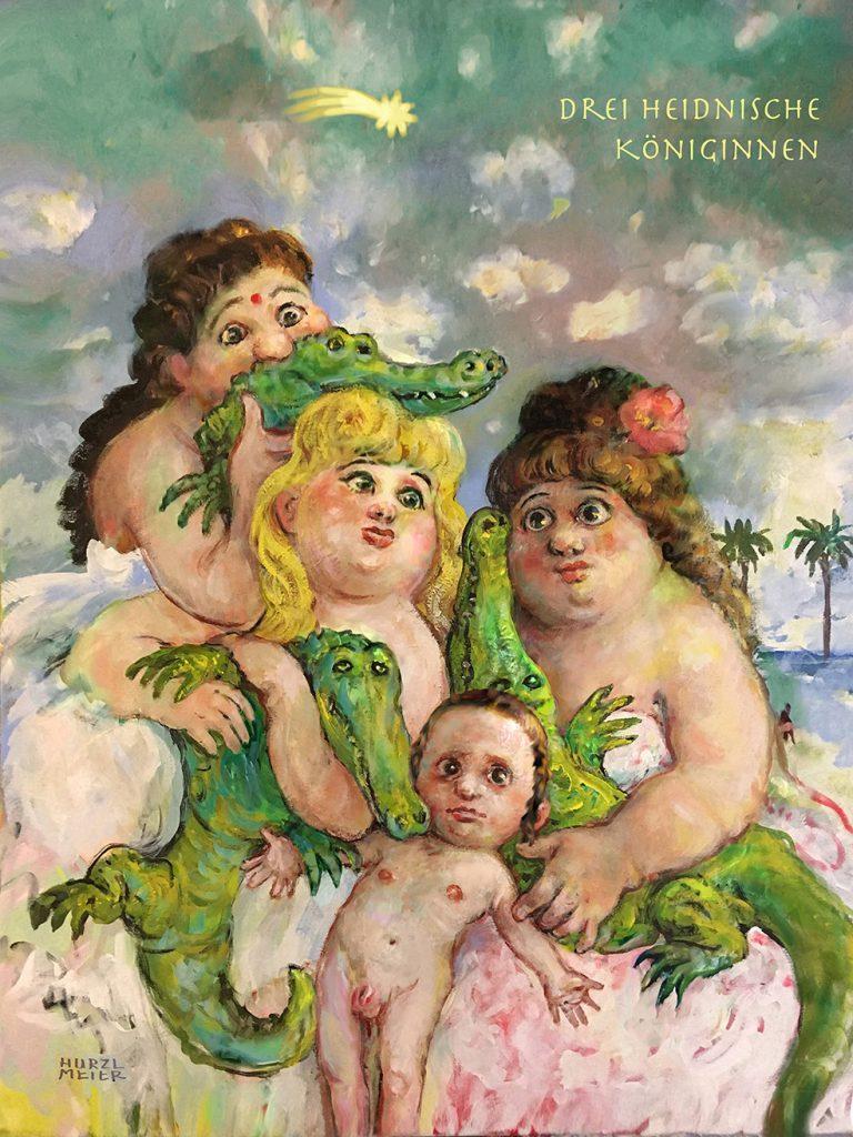 TITANIC-Magazin - Drei heidnische Königinnen