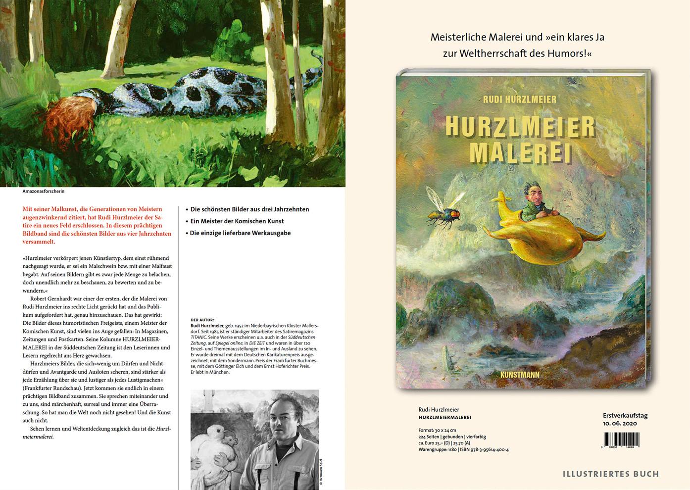 Buchvorschau » Rudi Hurzlmeier - Malerei